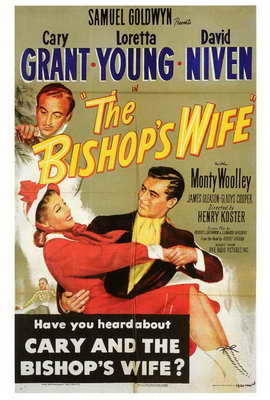 The Bishop's Wife - 27 x 40 Movie Poster - Style A