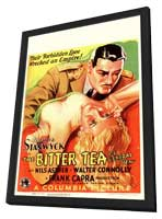 The Bitter Tea of General Yen - 11 x 17 Movie Poster - German Style A - in Deluxe Wood Frame