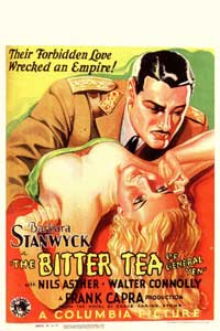 The Bitter Tea of General Yen - 11 x 17 Movie Poster - German Style A