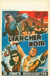 The Black Archer - 27 x 40 Movie Poster - Belgian Style A