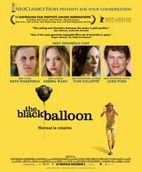 The Black Balloon - 27 x 40 Movie Poster - Style A