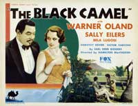 The Black Camel - 11 x 14 Movie Poster - Style A