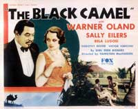 The Black Camel - 11 x 14 Movie Poster - Style E