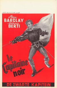 The Black Captain - 11 x 17 Movie Poster - Belgian Style A