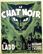 The Black Cat - 11 x 17 Movie Poster - French Style A