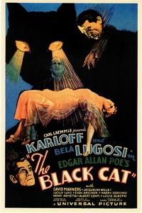The Black Cat - 11 x 17 Movie Poster - Style A