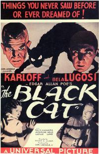 The Black Cat - 11 x 17 Movie Poster - Style B