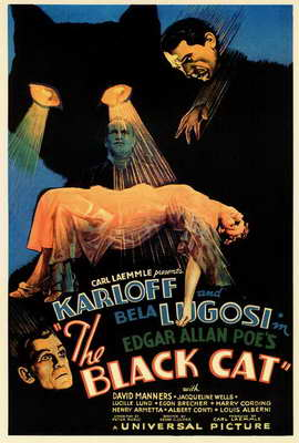 The Black Cat - 27 x 40 Movie Poster - Style A