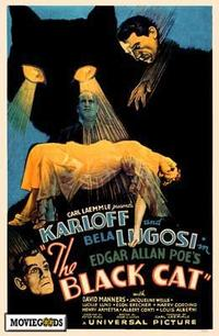 The Black Cat - 43 x 62 Movie Poster - Bus Shelter Style A