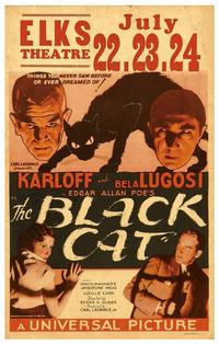 The Black Cat - 11 x 17 Movie Poster - Style C