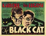 The Black Cat - 11 x 14 Movie Poster - Style G