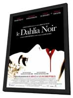The Black Dahlia - 27 x 40 Movie Poster - French Style B - in Deluxe Wood Frame