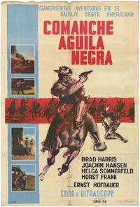 The Black Eagle of Santa Fe - 11 x 17 Movie Poster - Spanish Style A