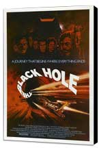 The Black Hole - 27 x 40 Movie Poster - Style D - Museum Wrapped Canvas