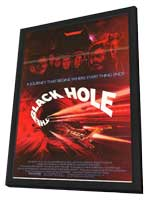 The Black Hole - 11 x 17 Movie Poster - Style C - in Deluxe Wood Frame