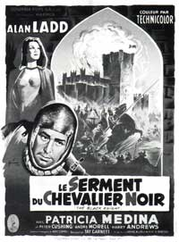 The Black Knight - 11 x 17 Movie Poster - French Style A