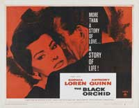 The Black Orchid - 22 x 28 Movie Poster - Half Sheet Style A