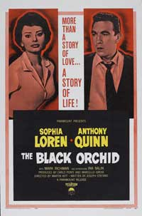 The Black Orchid - 27 x 40 Movie Poster - Style A