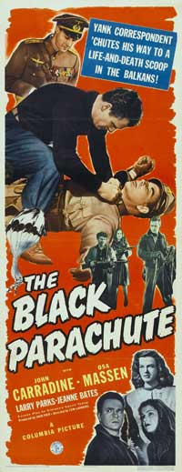 The Black Parachute - 14 x 36 Movie Poster - Insert Style A