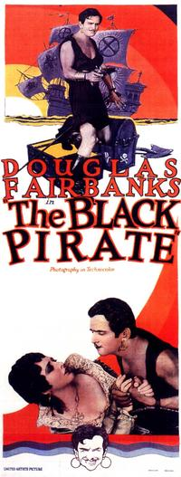 The Black Pirate - 14 x 36 Movie Poster - Insert Style A