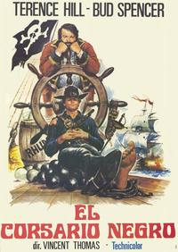The Black Pirate - 11 x 17 Movie Poster - Spanish Style A