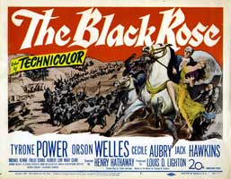 The Black Rose - 11 x 14 Movie Poster - Style A