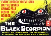 The Black Scorpion - 11 x 17 Movie Poster - Style B
