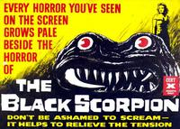 The Black Scorpion - 11 x 14 Movie Poster - Style A