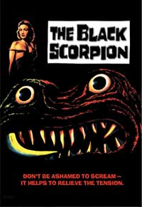 The Black Scorpion - 11 x 17 Movie Poster - Style A