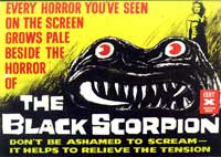 The Black Scorpion - 11 x 17 Movie Poster - Style B