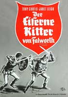 The Black Shield of Falworth - 43 x 62 Movie Poster - German Style A