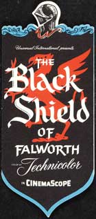 The Black Shield of Falworth - 14 x 36 Movie Poster - Insert Style B