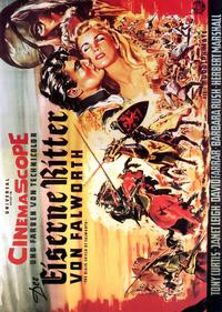 The Black Shield of Falworth - 11 x 17 Movie Poster - German Style A