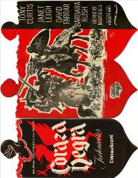 The Black Shield of Falworth - 11 x 17 Movie Poster - Spanish Style A