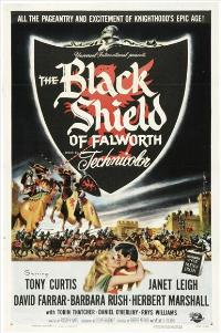 The Black Shield of Falworth - 11 x 17 Movie Poster - Style A