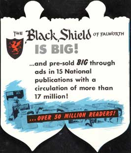 The Black Shield of Falworth - 11 x 17 Movie Poster - Style B