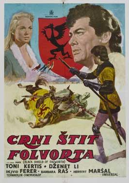 The Black Shield of Falworth - 11 x 17 Movie Poster - Spanish Style B