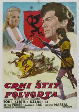 The Black Shield of Falworth - 27 x 40 Movie Poster - Belgian Style B