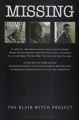 The Blair Witch Project - 11 x 17 Movie Poster - Style D