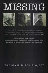 The Blair Witch Project - 27 x 40 Movie Poster - Style D