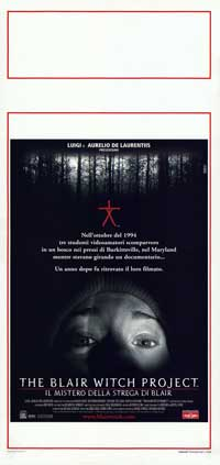 The Blair Witch Project - 13 x 28 Movie Poster - Italian Style A