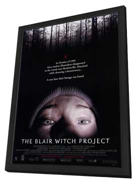 The Blair Witch Project - 11 x 17 Movie Poster - Style A - in Deluxe Wood Frame