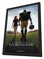 The Blind Side - 11 x 17 Movie Poster - Style A - in Deluxe Wood Frame