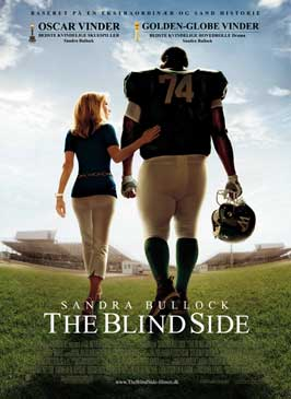 The Blind Side - 27 x 40 Movie Poster - Danish Style A