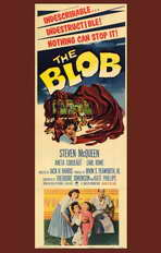 The Blob - 11 x 17 Movie Poster - Style B