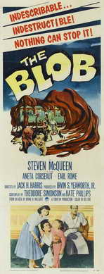 The Blob - 14 x 36 Movie Poster - Insert Style A