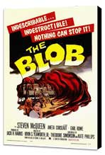 The Blob - 11 x 17 Movie Poster - Style A - Museum Wrapped Canvas