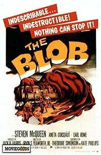 The Blob - 43 x 62 Movie Poster - Bus Shelter Style A