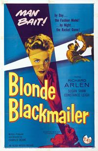Blonde Blackmailer - 27 x 40 Movie Poster - Style A