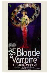 The Blonde Vampire - 27 x 40 Movie Poster - Style A